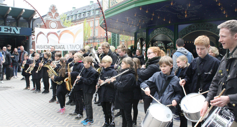 Roskilde Skoleorkester Tivoli