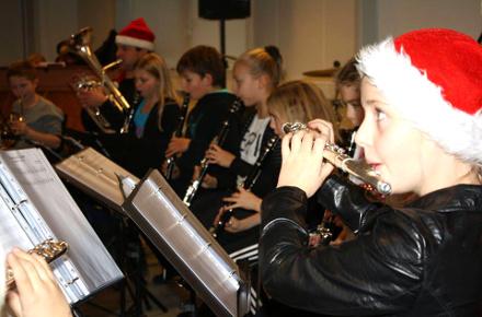 Julekoncert skoleorkestret