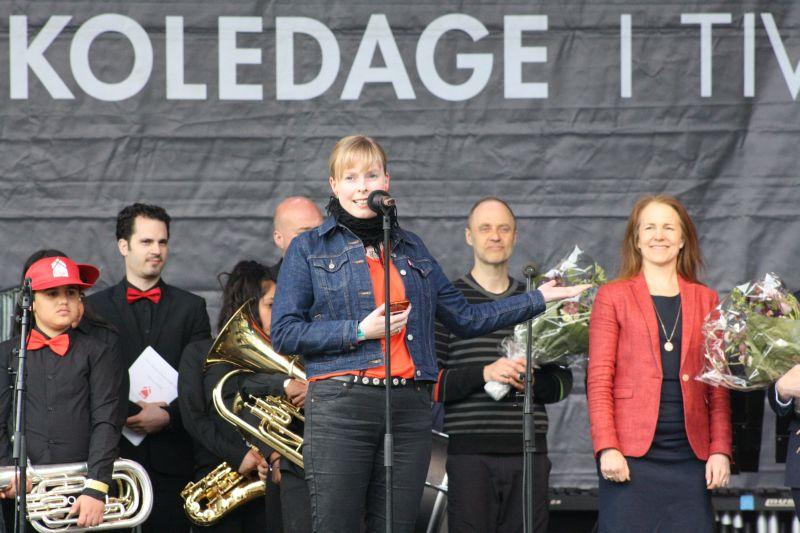 Årets musikskolekommune Joy Mogensen