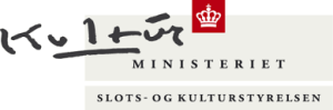 slots og kulturstyrelsen logo