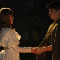 Robin Hood og Marion på Margretheskolen