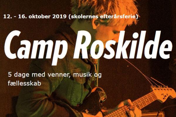 Musikstarter Camp Roskilde i efterårsferien