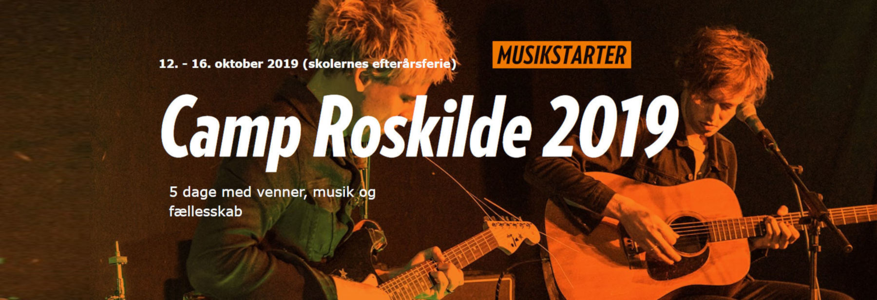 Musikstarter Camp Roskilde