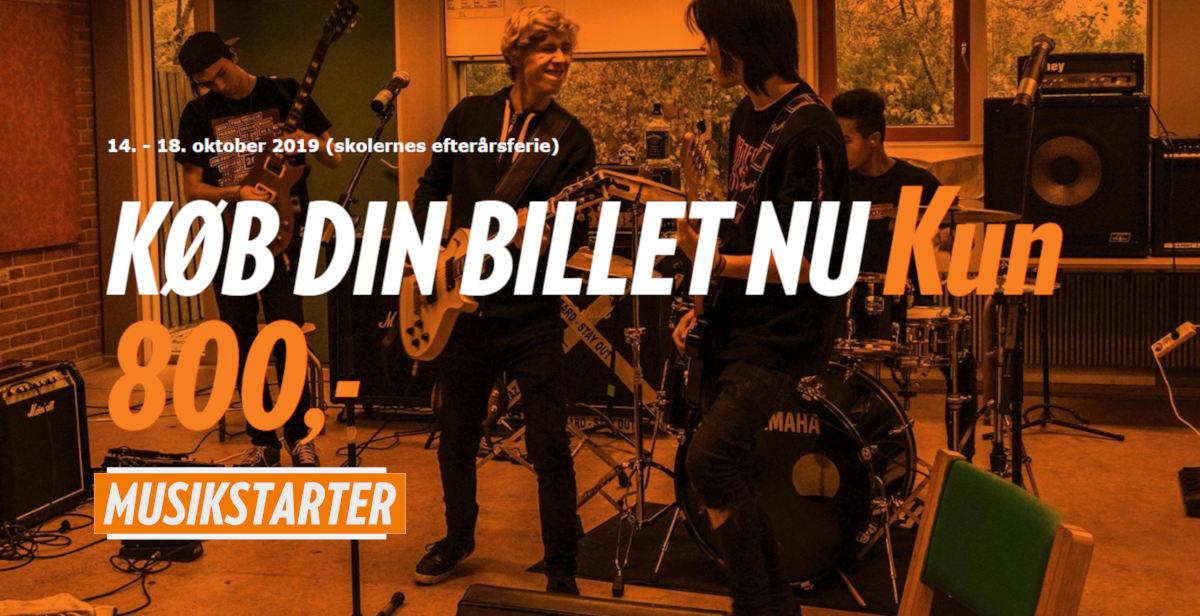 Musikstarter Camp Roskilde billet