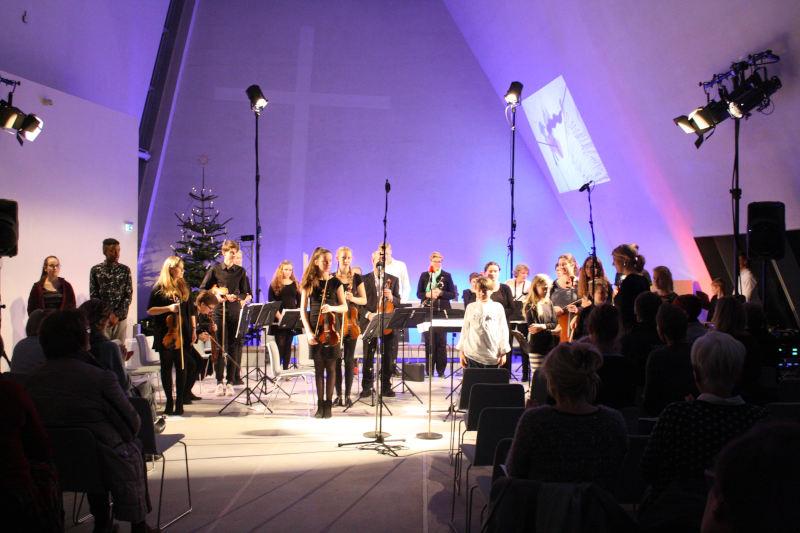 Julekoncert med underholdningsorkestret i Hellig Kors Kirke
